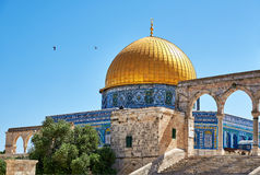 Dome of the Rock mosque in Jerusalem Stock Photography