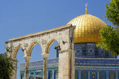 Dome of the rock Mosque Stock Images