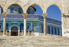 Dome of the rock Mosque Royalty Free Stock Photography