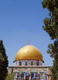 Dome of the Rock Among Trees Stock Photos
