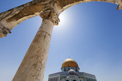 Arches & Dome of the Rock Royalty Free Stock Photos