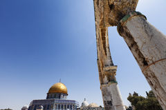 Arches & Dome of the Rock Royalty Free Stock Image
