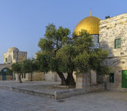 Dome of the Rock in the Old City of Jerusalem Stock Photo