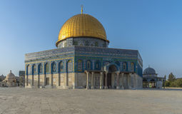 Dome of the Rock in the Old City of Jerusalem Stock Images