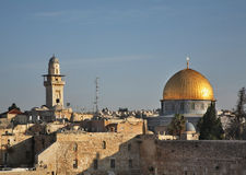Dome of the Rock - Qubbat Al-Sakhrah in Jerusalem. Israel Stock Photo
