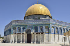 Dome of the Rock Temple, Jerusalem. Stock Photography