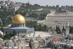 Dome of The Rock, Temple Mount. Stock Photography
