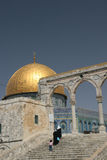 Dome of the Rock,Temple Mount. The Golden Dome of the Rock, Jerusalem,Israel royalty free stock images
