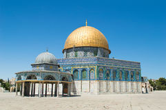 The Dome of the Rock on the Temple Royalty Free Stock Photography