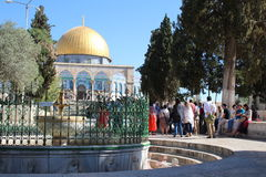 Dome of the Rock - Temple Mount - Jerusalem - Israel Stock Photography