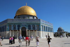 Dome of the Rock - Temple Mount - Jerusalem - Israel Royalty Free Stock Photography