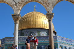 Dome of the Rock - Temple Mount - Jerusalem - Israel Stock Images