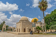Dome of the Rock Temple Mount Jerusalem Stock Image