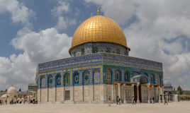Dome of the Rock Temple Mount Jerusalem Royalty Free Stock Photo