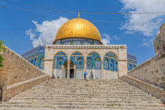 Dome of the Rock Temple Mount Jerusalem Stock Photography