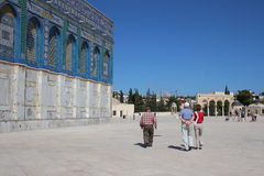 Dome of the Rock - Temple Mount - Jerusalem - Israel Royalty Free Stock Photos