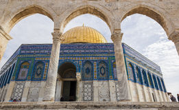 Dome on the Rock on Temple Mount. Jerusalem. Israel. Royalty Free Stock Photography