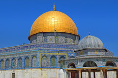 Dome of the Rock at Temple Mount, Jerusalem Royalty Free Stock Photo