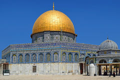 Dome of the Rock at Temple Mount, Jerusalem Royalty Free Stock Photos