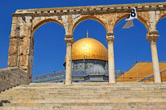 Dome of the Rock at Temple Mount, Jerusalem Stock Photo