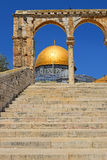 Dome of the Rock at Temple Mount, Jerusalem Royalty Free Stock Image