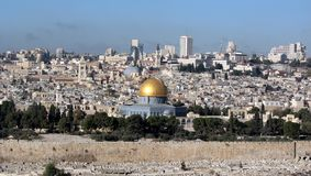Dome of the Rock, Jerusalem, Israel Stock Photos