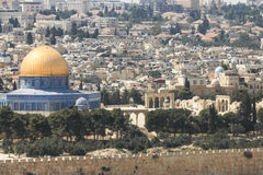 Dome of the Rock at Temple Mount Royalty Free Stock Image