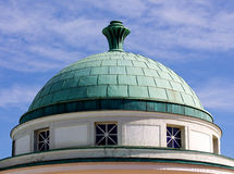 The dome roof against the sky Stock Photos