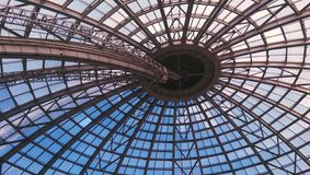 Dome roof structure Stock Photography