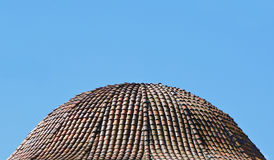 Dome of Roof tile Stock Images