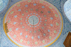 Dome of a Room in Topkapi Palace Stock Images