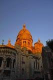 The dome of Sacre Coeur, Paris, France stock photos