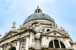 Dome of Saint Mary of Health church in Venice, Italy. Venice, Italy: Dome of Saint Mary of Health Roman Catholic church in Venice, Italy royalty free stock images