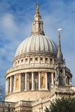 Dome of Saint Paul`s Cathedral royalty free stock image