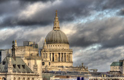 Dome of Saint Paul's Cathedral Stock Images