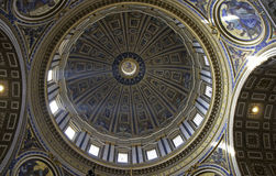 Dome of Saint Peter's Basilica, Rome Stock Photography