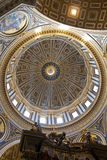 Dome of Saint Peter's basilica, Vatican City Royalty Free Stock Images