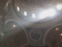 Dome of Saint Peter's basilica Stock Images