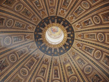 Dome of Saint Peter's basilica Royalty Free Stock Photography