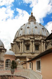 Dome of Saint Peter's Basilica, Vatican City, Italy Royalty Free Stock Photo