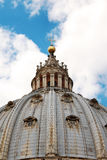 Dome of Saint Peter's Basilica, Vatican City, Italy Stock Images