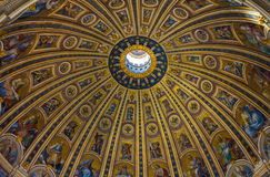 Dome of Saint Peters Basilica Stock Photography