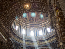 Dome, Saint Peters Basilica, Rome Stock Photos