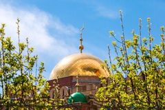 Dome of Samara Cathedral Mosque Stock Image