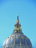 Dome of San Francisco City Hall Stock Images