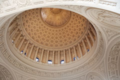 Dome of San Francisco City Hall. Interior view of San Francisco City Hall Stock Images