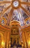 Dome San Francisco el Grande Royal Basilica Dome Madrid Spain Stock Image