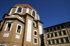 The Dome of San Lorenzo Church in the centre of Florence Royalty Free Stock Photo