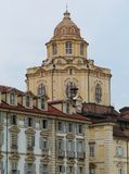 The dome of the San Lorenzo church in Torino Royalty Free Stock Images