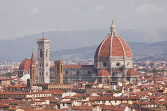 Dome of Santa Maria del Fiore Stock Image